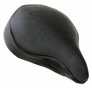 "Slim Thin Gel Bicycle Seat Pad for 8"" - 11'' Wide Seats"