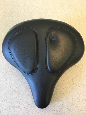 "13"" Heavy-Duty Support Bicycle Seat -- COSEMETIC FLAW"